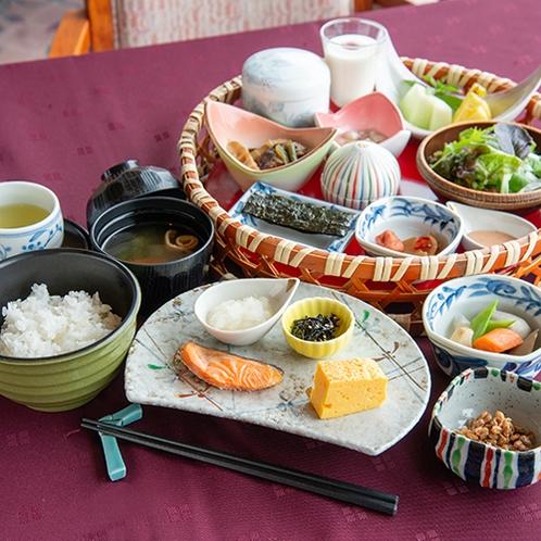 *【朝食/和定食】お日にちによっては定食でご用意となります。