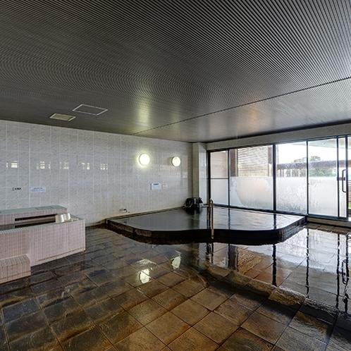 *【内風呂】天然温泉を満喫!ゆったりした時間をお過ごしください。