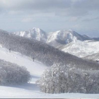 【1泊・1日リフト券付き】竜山・上の台ゲレンデまで徒歩5分!スキー後はヒバ入りジャグジー(2食付)
