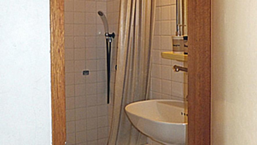 ・ツインルームのシャワー