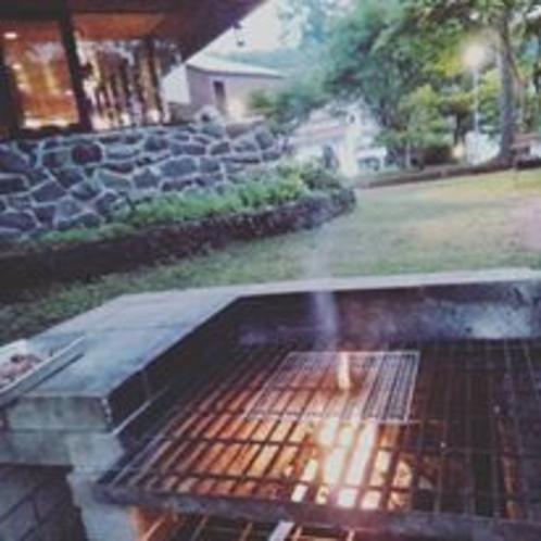 BBQでわいわい