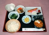 ボリューム満点!和朝食★600円