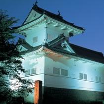 【青葉城址】車で20分。ここから眺める仙台市内は圧巻、夜景も最高です♪