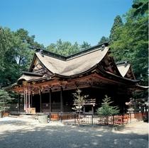【大崎八幡宮】社殿は国宝に指定されており、どんと祭の裸参り有名です♪
