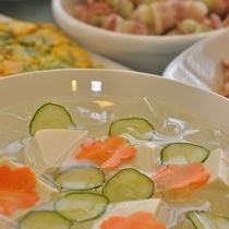 【豆腐】涼しげな豆腐は暑い時期にぴったり♪