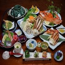 【お料理】カニフルコース会席