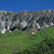 【観光】大山の南壁