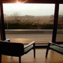 サロンから見た仙石原風景