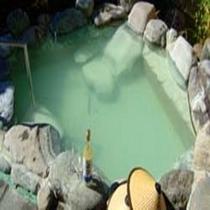 にごり湯☆自慢の露天風呂