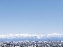立山連峰全景