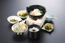 柳橋ご膳(氷見うどんご膳)