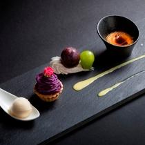 【2019秋のお献立】デザート~紫芋のモンブラン、かぼちゃのブリュレなど