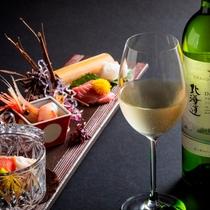 【2019秋のお献立】お造りには辛口の白ワインを合わせて