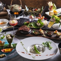 【2020夏のお献立】和食とフレンチを融合し、食材の魅力を最大限に引き出す和洋会席