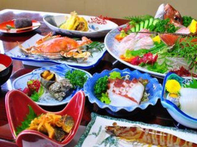 五橋苑自慢の夕食(五橋プラン)