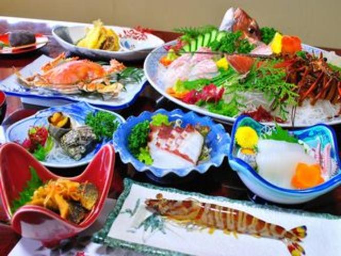 五橋苑自慢の夕食(豪華プラン)
