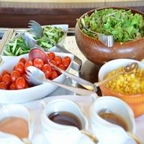 【夕食バイキング一例】サラダコーナー
