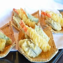 【夕食バイキング一例】天ぷら