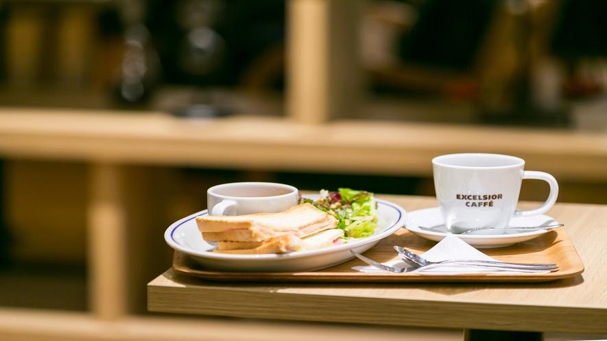朝のコーヒーで優雅なひと時を