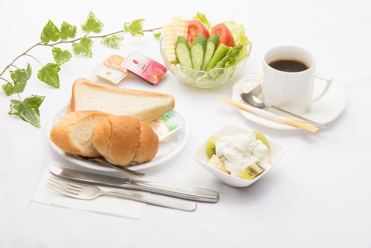 朝食(洋軽食)