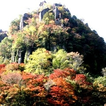 紅葉の名所「一目八景」
