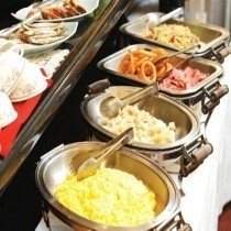 和洋バイキング朝食 6:45〜9:00