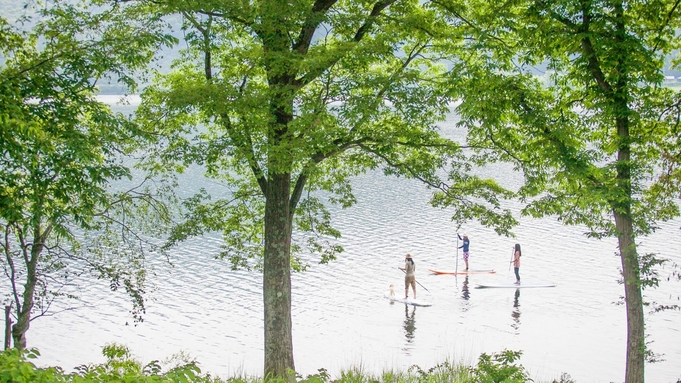 【1泊朝食】大自然で遊ぼう!マウンテンバイクや川遊びもできる♪国営アルプスあづみの公園入場券付き!