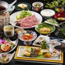 とろけるような霜降りの長野県産和牛。美味しい「すき焼き」でお楽しみください。