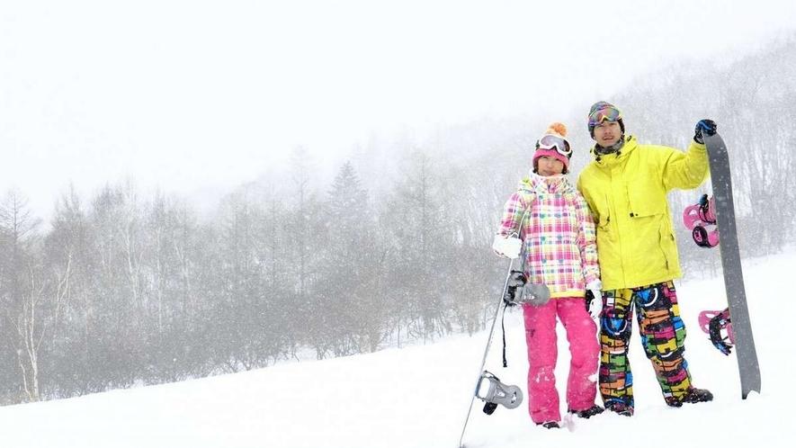 スキーにスノーボード、家族連れやペット連れで楽しめるゲレンデ等白馬方面多数!