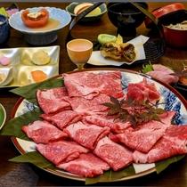 信州プレミアム牛のすき焼き食べ放題!支配人お勧め冬の特別プランです