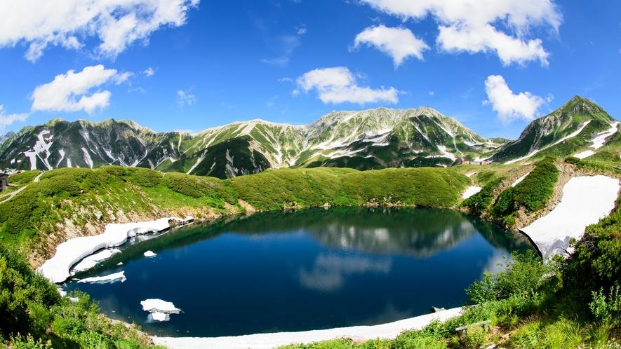 立山黒部アルペンルート。みくりが池展望台