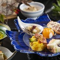 秋のおすすめ会席料理より~秋の香り高い食材をお楽しみください。