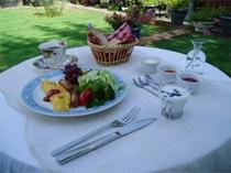 朝食(一例です♪)