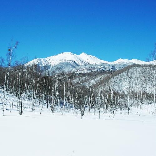 冬の乗鞍高原 一之瀬園地