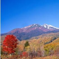 乗鞍岳と紅葉