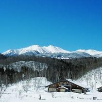 冬の乗鞍高原 ネイチャープラザ