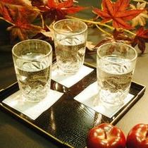 人気の地酒三昧セット 異なる酒蔵を3種類を用意