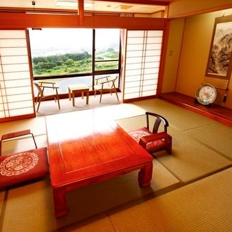 【禁煙】天竜川眺望【和室10〜12帖】眺望が人気のお部屋