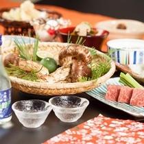 ■料理長渾身の【特別会席】秋の味覚、松茸会席アップ。