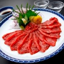 ■別注料理【馬刺し】