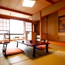 ■【和室8~12畳】当館の標準的なお部屋