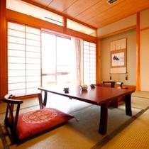 ■余裕の広さ【和室12畳(バストイレ付)】の一例