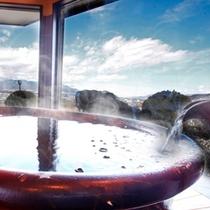 ■貸切風呂「紅葉」~景色とお湯を楽しむ