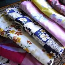 ■色浴衣・一例