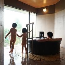 ■貸切風呂だから、小さいお子様連れでも安心!
