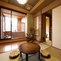【千遊館露天風呂付き客室】