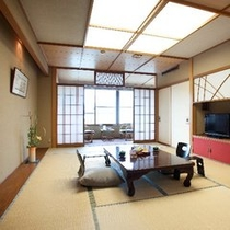 【最上階10畳】斜めから(客室一例)