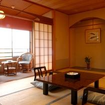 *和室10畳タイプ〜客室の一例