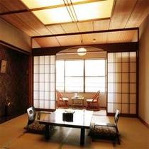 *和室8畳タイプ客室の一例