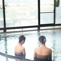 【大浴場 のぞみの湯】長湯を愉しむ…PH8.8美肌の湯!